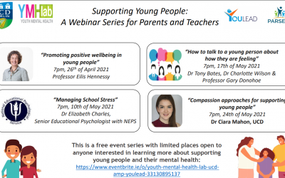 SUPPORTING YOUNG PEOPLE: A webinar series for parents and teachers